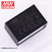 Meanwell1W 5V 200mA Single Output Encapsulated Type Switch Mode Power Supply IRM-01-5