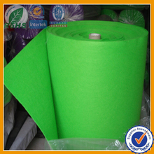 Colored non woven polyester felt material fabric