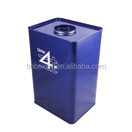recyclable tin custom print metal paint cans lids