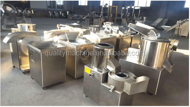 High Efficiency Fresh Potato Chips Cutter French Fries Making Machine for Food Processing Factories