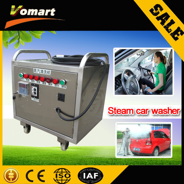 CE 6KW automatic mobile steam car washing machine/machine dry wash car mini steam cleaner