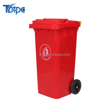 240L HDPE Top open Outdoor Waste Container Recycle Garbage Bin