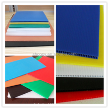 3mm colorful pp correx printing sheet for advertising