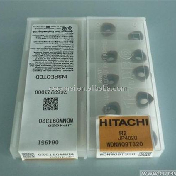 Hitachi carbide insert WDNW09T320 JP4020, grooving insert,hot sale cnc machine insert