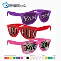 Brightlook wholesale hot logo pinhole high quality custom sunglasses