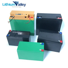 Customized 12v Ah dc battery backup power supply rechargeable battery