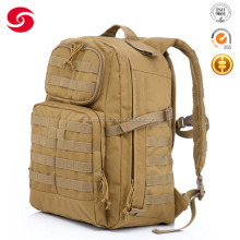 600D polyester oxford desert color millitary backpack ,tactical backpack