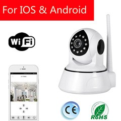 Smart-i 2016 CE ROHS smart 64 GB wireless 720P cctv camera With free app control for home automation