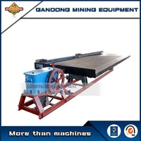 High quality mining machinery fiber glass shaking table for sale