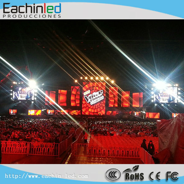 waterproof full color full color led video curtain hd