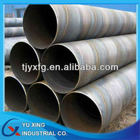API 5L SSAW Spiral Welded steel pipe / tube Piling pipe for low pressure liquid transport