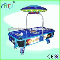 coin operated air hockey table game machine UNIVERSE HOCKEY