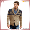 Bomber Jacket Style Men Knitwear Cardigan
