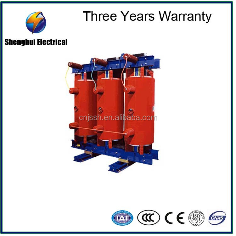 2500 kva h class insulation cast-resin dry transformer