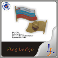 Russia Flag Metal Badge Trade Assurance
