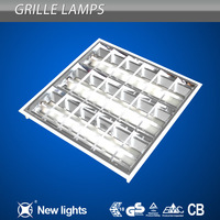 school light T5 office ceiling light grille lamp fixture