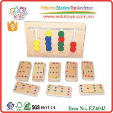 Hot Sale Hardwood Chilren Educational Toys Color Match Games