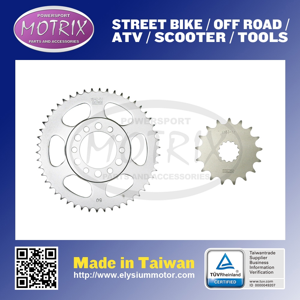 S45C 52 TEETH REAR SPROCKET