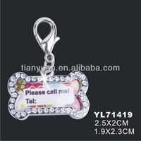 China distributer dog tag necklace for kids(YL71419)