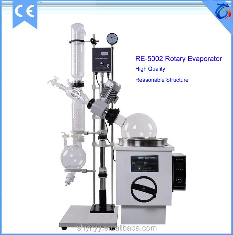 Latest Style Glass Rotary Vaccum Evaporator Can Be Regulating Speed