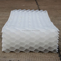 Cheap Price And Efficient Honeycomb inclined pipe/PVC Plastic hexagon honeycomb packing