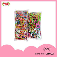 2015 Wholesale Free Rubber Band Bracelet, Crazy Silicone Loom Bracelet DIY