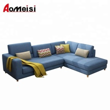 GN168 fabric L shaped sectional sofa, washable,living room sofa set, Nordic style