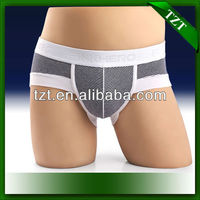 1213 Sexy Cotton Striped Boxers Briefs 2014 Brazil Men's Underwear