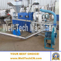 waste PVC plastics recycling machine