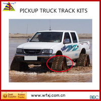 China merchant directly supply ATV TRUCK conversion track kit rubber for defender pickup