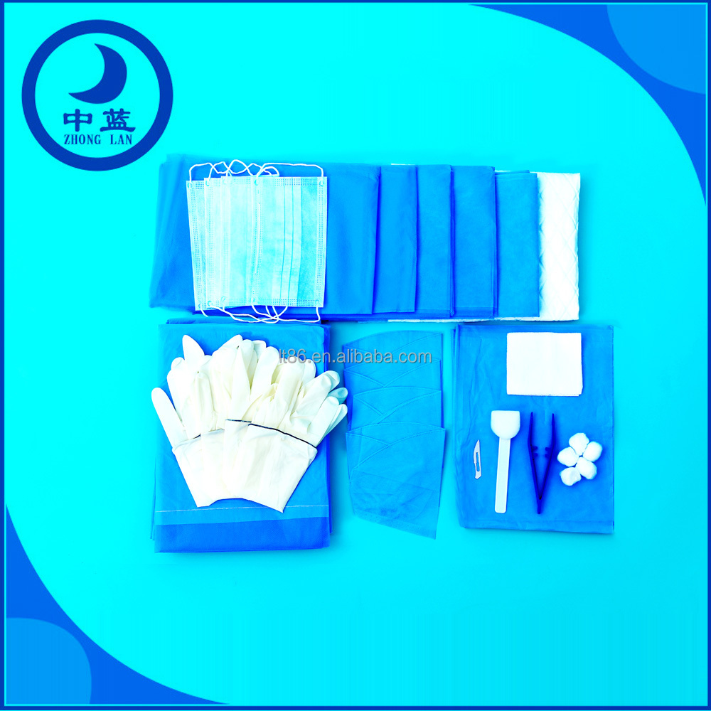 Disposable sterilization surgical kit