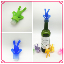 New Fancy Silicone Wine Bottle to Decorative Wine Stopper funny synthetic wine cork stopper Wholesale on Alibaba
