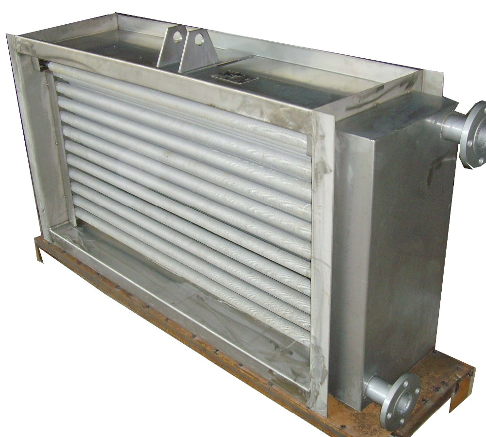 Copper heating radiator/condenser and evaporate can be designed