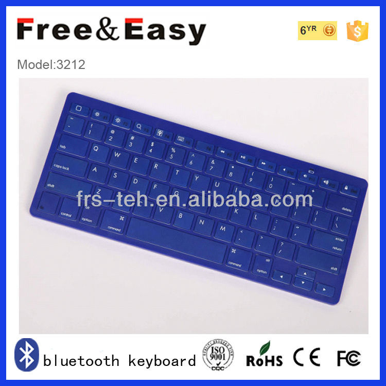 Mini bluetooth keyboard rohs fcc ce bluetooth keyboard case