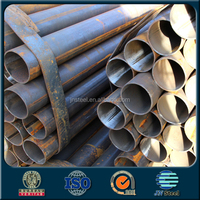 China supplier 2 inch sch 40 diameter 89mm Straight cement lined steel pipe price per ton