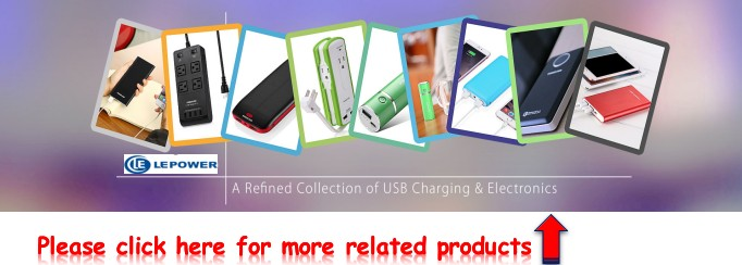 Electronics 2018 CE ROHS Power Bank Dual Inputs / Outputs 3A Fast Charging External Battery Charger
