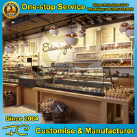 Shop bakery showcase design for bakery display cabinet