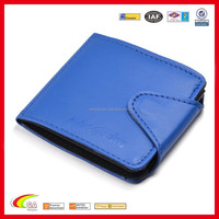 Wholesale Blue Color PU Leather Guitar Pick Holder with 24 Nip Slots