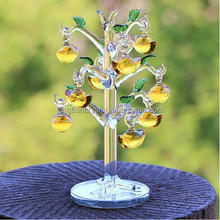 Crystal apple tree ,crystal decorative apple tree, mini Crystal apple tree for Christmas