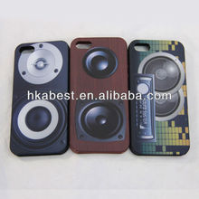 Stereo Speaker 3D Silicone Soft Cover Protective Shell for iphone 5