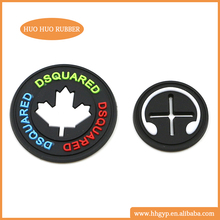 Hot sale cheap design customized soft pvc rubber patches for garments