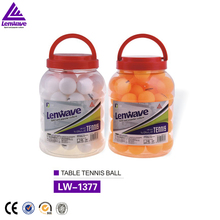 Lenwave High quality plastic cheap logo pingpong ball