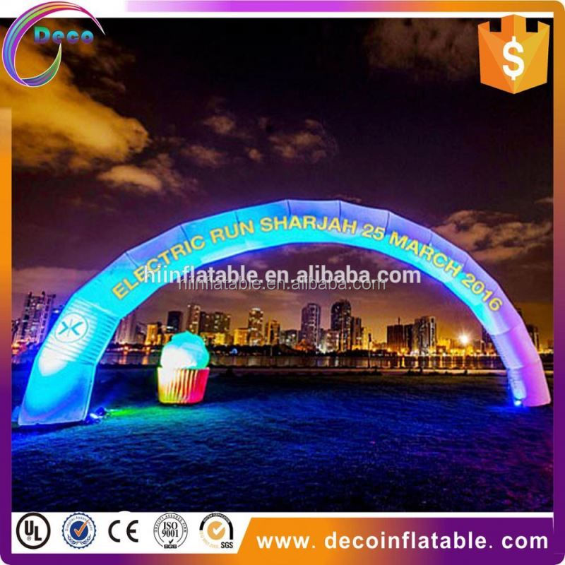 Best price!!!!inflatable christmas arches,led inflatable arch,arch inflatable
