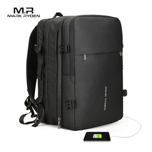 New Design Big Capacity Laptop Bag Waterproof Business Travel Bag Anti-Thief Backpack with USB Port