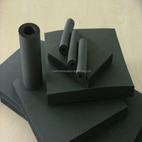 Foam rubber tubing thermal insulation materials for HVAC and refrigeration system