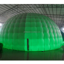 2017 LED inflatable igloo dome used party tents for sale