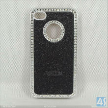 Good quality hard case with diamond bling bling cover for iPhone 5C P-IPH5CHC009