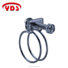 Hot products spring double wire hose pipe clamp with hex head screw
