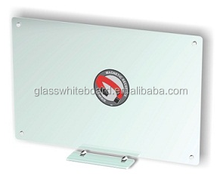 Frosted magnetic glass wipe boards