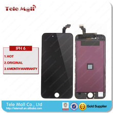 For Apple iphone 6 plus 5.5 LCD display + digitizer touch screen+ home button +Front Camera full set black / white Free